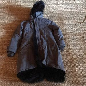Urban Outfitters Fur Lined Parka size medium